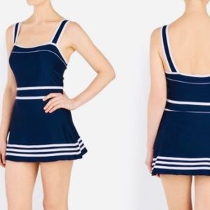 Other - Shore Shapes Swimwear Retro Nautical Navy White